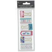 Llama Magnet Bookmarks & Binder Clips