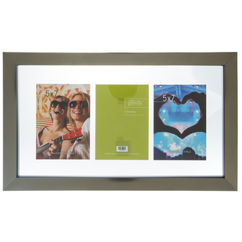 """Pewter Float Collage Wall Frame - 5"""" x 7"""""""