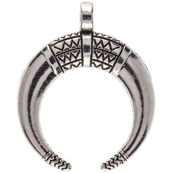 Double Horn Pendant