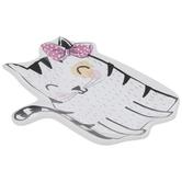 White & Black Cat Jewelry Dish