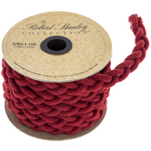 Dark Red Braided Rope