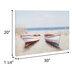 Boats On The Beach Canvas Wall Decor