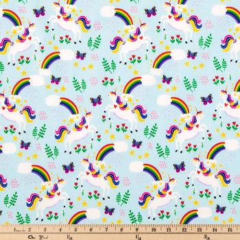 Over The Rainbow Cotton Calico Fabric