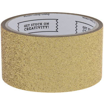 Gold Glitter Art Project Tape