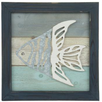 Angelfish Wood Wall Decor