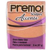 Copper Premo! Accents Clay - 2 Ounce