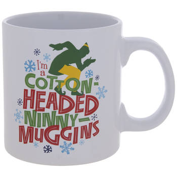 Elf Cotton Headed Ninny-Muggins Mug
