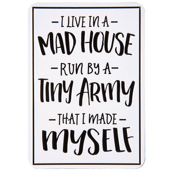 Mad House Magnet