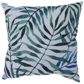 Watercolor Palm Leaves Pillow