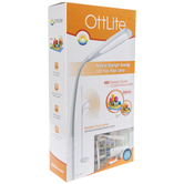 OttLite Natural Daylight Sewing LED Flex Floor Lamp