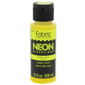 Neon Blacklight Fabric Paint