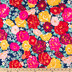 Bold Packed Floral Apparel Fabric