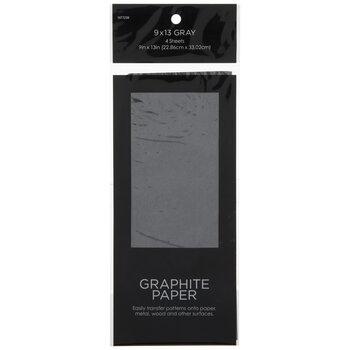 """Gray Graphite Paper - 9"""" x 13"""""""