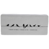 I Believe In Family Birds Decor