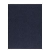 "Midnight Blue Textured Cardstock Paper - 8 1/2"" x 11"""