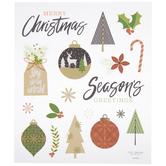 Season's Greeting Stickers