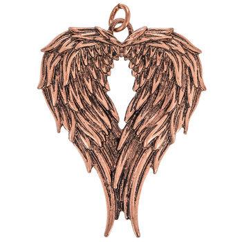 Wings Heart Pendant