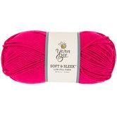 Hot Pink Yarn Bee Soft & Sleek Yarn