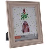 "Pink Distressed Wood Frame - 8"" x 10"""