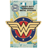 Wonder Woman Metal Sticker