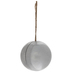 Silver Galvanized Metal Sphere Hanger