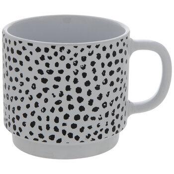 Black & White Dotted Mug