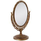 Antique Gold Ornate Mirror