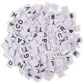 Alphabet Tile Beads