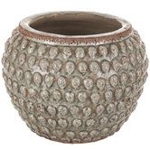 Teardrop Hobnail Flower Pot