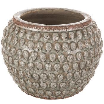 Teardrop Hobnail Flower Pot