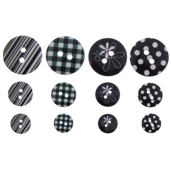 Multi-Print Round Buttons