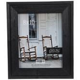 "Black Distressed Wood Wall Frame - 8"" x 10"""
