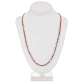 Double Link Chain Necklace - 30""