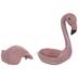 Pink Flamingo Metal Container
