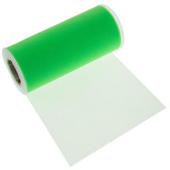 "Neon Green Matte Tulle - 6"""