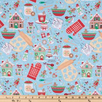 Christmas Baking Cotton Fabric