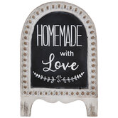 Homemade With Love Easel Decor