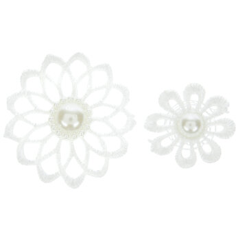 Lace Flower Stickers
