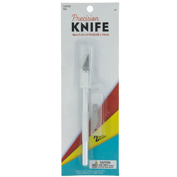 Precision Knife With Replacement Blades