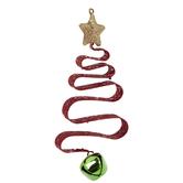 Red Glitter Christmas Tree Ornament