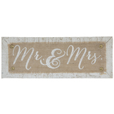 Mr & Mrs Wood Decor