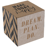 Dream Plan Do Cube