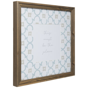 This Must Be The Place Framed Wall Decor