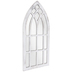 White Cathedral Wood Wall Mirror