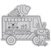 Coloring Ice Cream Trucks