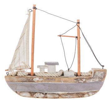 Sailboat With Sea Shells
