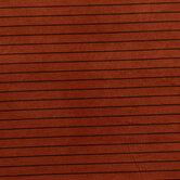 Brown & Black Striped Corduroy Fabric