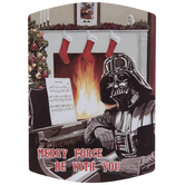 Merry Force Be With You Darth Vadar Magnet