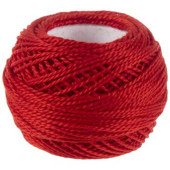 666 Bright Red DMC Pearl Cotton Thread - Size 5