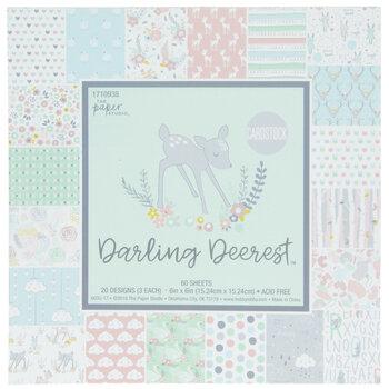 "Darling Deerest Cardstock Paper Pack - 6"" x 6"""